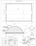 Проект бескаркасного ангара (раздел АС)