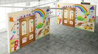 Стена детской