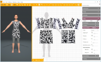 2D/3D дизайнер одежды