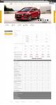 Аналог оф. сайта Chevrolet на Joomla 2.5