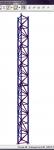 Вытяжная башня 18м. Расчет в SCAD