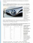 Самые дорогие автомобильные бренды (2016)