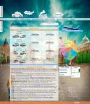 """Верстка и разработка сайта с нуля """"Московское такси"""""""