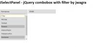 JQuery combobox