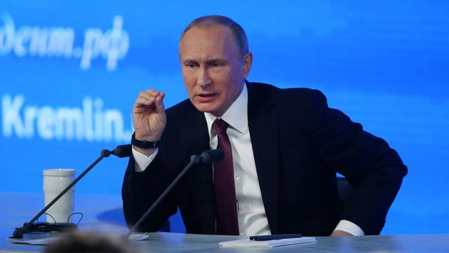 Пресс-конференция Президента РФ