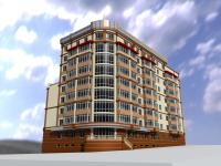 Многоэтажный жилой дом в г. Донецке