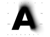 Letter #A (постеры)