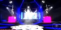Проект светового оформления диско-бара Малибу