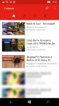 YouTube-клиент для Windows 10 Mobile