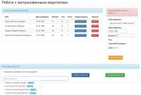 Система для редактирования данных о застрахованных водителях
