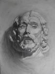 Иоанн Креститель (гипсовая постановка)