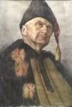 Классический портрет акварелью