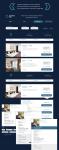 Дизайн личного кабинета для заказа авиа, жд билетов и отелей