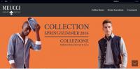 Сайт дизайнерского модного дома одежды.