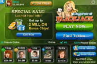 Playphone Blackjack and Poker