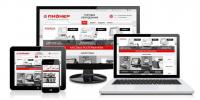Сайт компании по продаже оборудования для HOREKA