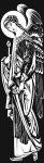 Отрисовка Архангела на памятник
