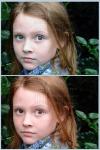 Замена цвета глаз, волос, очищение кожи лица