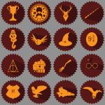 """иконки """"Harry Potter"""""""