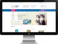 Дизайн интернет-магазина товаров для животных