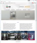 "Сайт для компании ""Бик Монтаж"" производство лифтов"