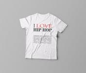 Принт на футболку из серии #длясебя ))