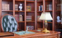 3D визуализация рабочего кабинета  (1 ракурс)