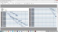 График СМР по устройству фасада в MS Excel