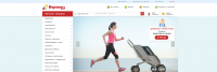 Дизайн сайта для интернет-магазина Карапуз.