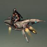 Hoverjet Rider