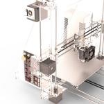 Визуализация конструкции3D-Принтера
