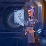 Концепт Sci_Fi персонажа - инженер