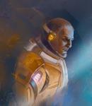 Скетч Sci-Fi персонажа