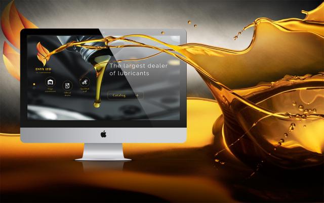 Сайт компании Эникс. Машинные масла.