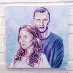 Портрет пары на заказ