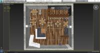 Визуализация и моделирование интерьера в 3D - Планировка 1