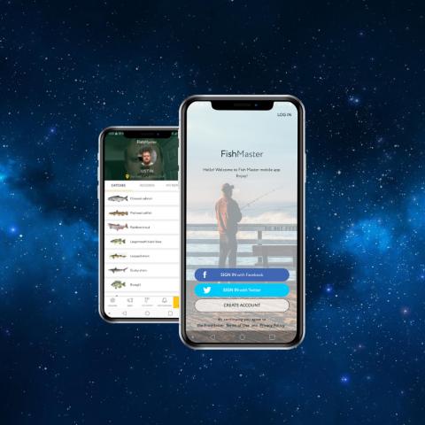 Мобильное приложение FISHMASTER