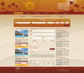 Создание сайта для турфирмы