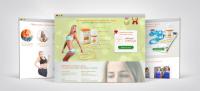 Landing Page «Пыльца для похудения»
