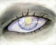 Пример работы. Рисунок цветными карандашами.