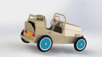 Детский автомобиль из фанеры
