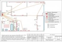 План розеточной сети