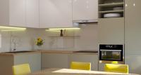 """Modern kitchen design """"White&Olive"""""""