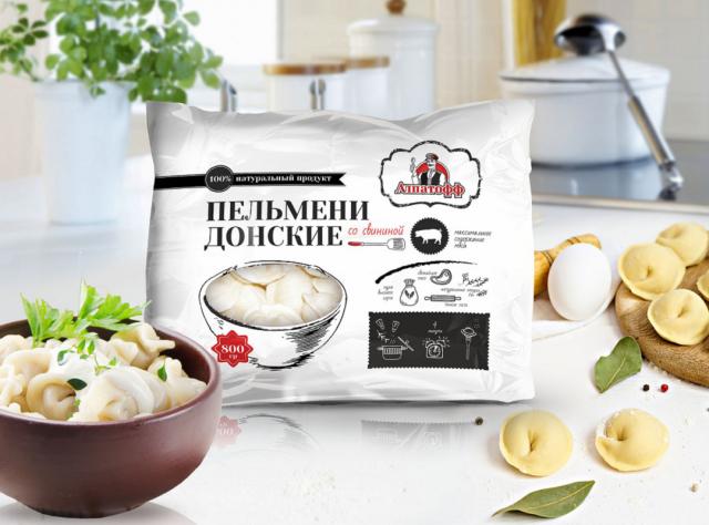 """Дизайн серии упаковок ТМ """"Алпатофф"""""""