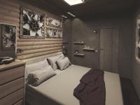 Дизайн-проект спальни в загородном доме