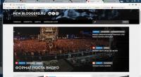 Верстка новостного сайта на CMS Wordpress