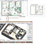 Планировки и перепланировки - квартиры от 36 до 100 кв.м.