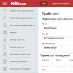 CRM-система для агентства недвижимости NaiBecar