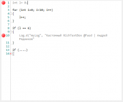 Кастомный контроллер RichTextBox на C# WPF
