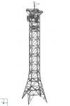Башня высотой 86,9 метра